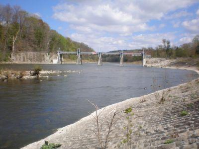 springbank dam hydraulic gates