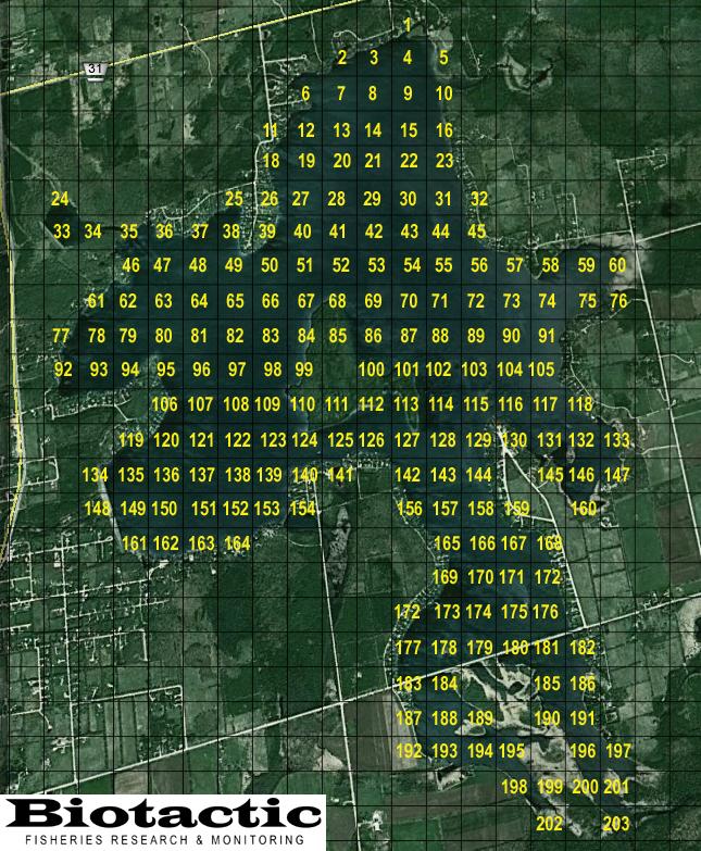 lake eugenia quadrat map