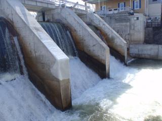 Thornbury dam