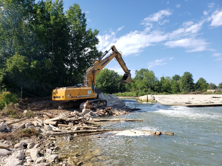 truax dam deconstruction