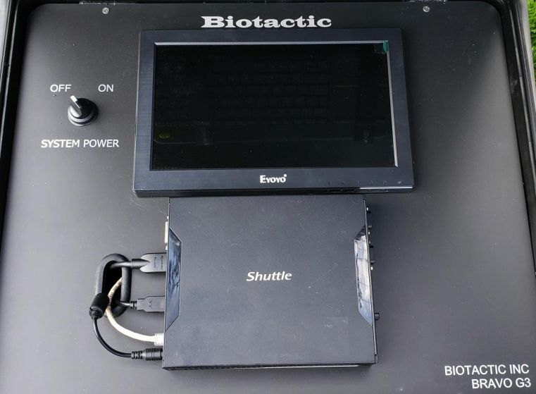 BRAVO G3 Fish Counting System faceplate